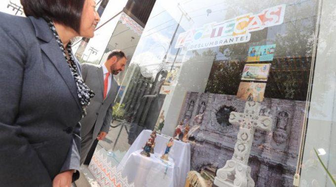 DURANTE UN MES ZACATECAS SE PROMOCIONARÁ EN PUNTO MÉXICO, UNO DE LOS ESPACIOS MÁS IMPORTANTES DEL PAÍS PARA LA ATRACCIÓN TURÍSTICA