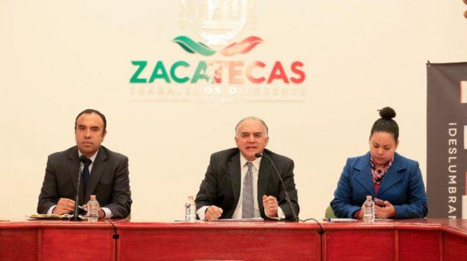 ZACATECAS DESLUMBRANTE CIERRA 2017 CON CERCA DE 1 MIL 280 MDP DE DERRAMA: SECRETARIO EDUARDO YARTO