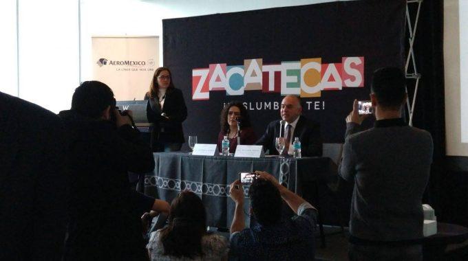 PROMUEVE GOBIERNO ESTATAL PRODUCTOS TURÍSTICOS Y FESTIVAL CULTURAL ZACATECAS 2018 EN CIUDAD DE MÉXICO