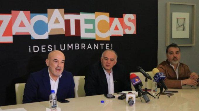 ZACATECAS DESLUMBRANTE, LISTO PARA RECIBIR A 400 PROFESIONALES DEL TURISMO DE REUNIONES: SECRETARIO EDUARDO YARTO