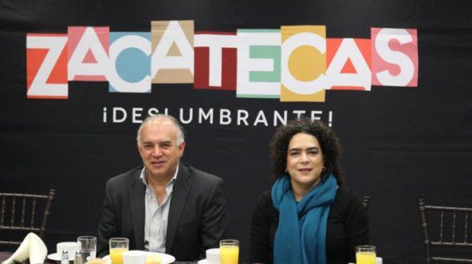 LLEGA A MONTERREY GIRA PROMOCIONAL DE ZACATECAS DESLUMBRANTE
