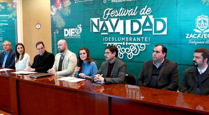 LLEVARÁ GOBIERNO ESTATAL ACTIVIDADES DEL FESTIVAL NAVIDEÑO DESLUMBRANTE A 8 REGIONES DE ZACATECAS