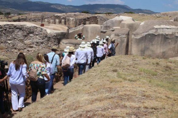 REALIZAN EL PRIMER FESTIVAL DE SOLSTICIO DE VERANO EN LA ZONA ARQUEOLÓGICA DE ALTAVISTA